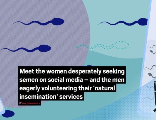 Meet the women desperately seeking semen on social media - Metro magazine ft. Miranda Christophers